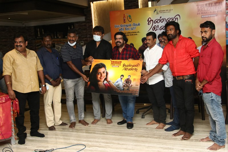 Thanni Vandi Trailer Launch Stills