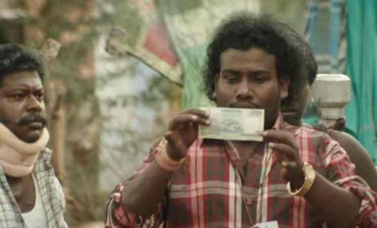 vote by giving money - Yogi Babu