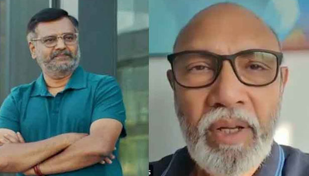 Actor Sathyaraj has issued a condolence message for late Vivek Sir