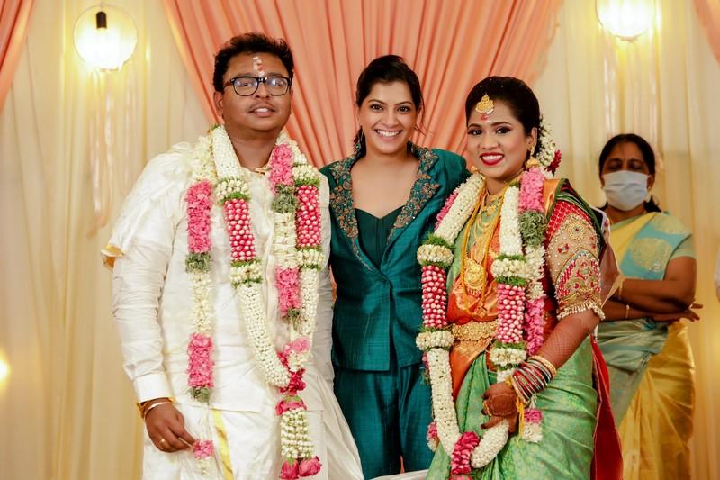 Cinematographer GK Vishnu Wedding Photos