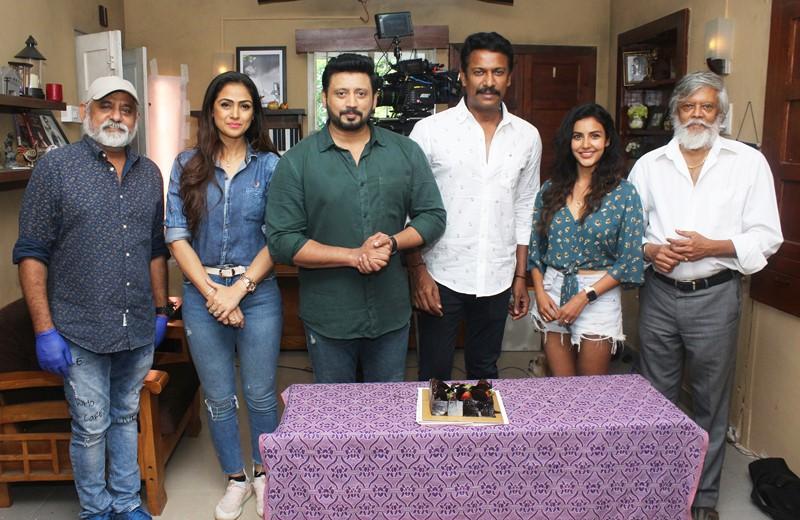 Director Samuthirakani Birthday Celebration Stills