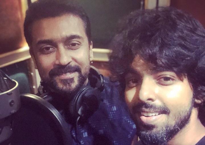 GV Prakash gives new update of Suriya movie