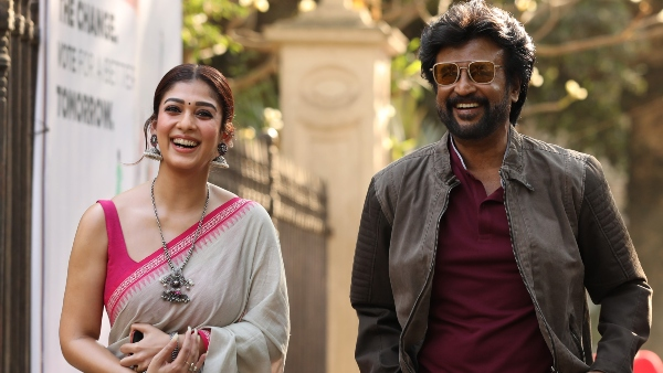 Nayanthara went to Hyderabad to meet Rajini