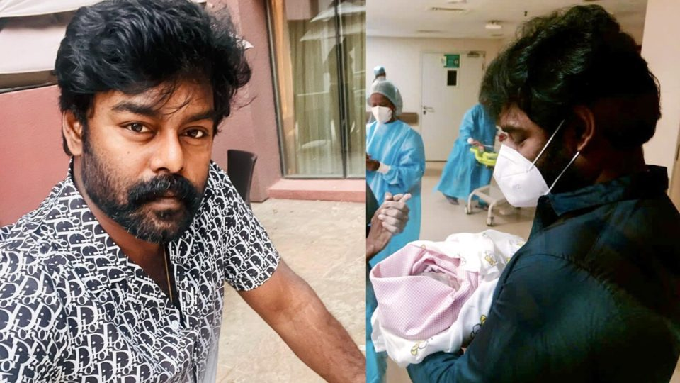 RK Suresh blessed with a baby girl