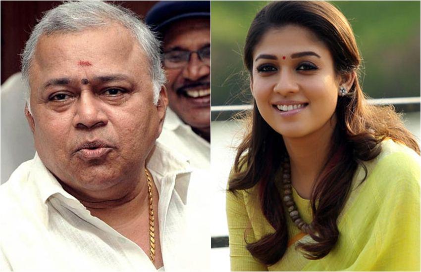 Radha Ravi controversial speech against Nayanthara