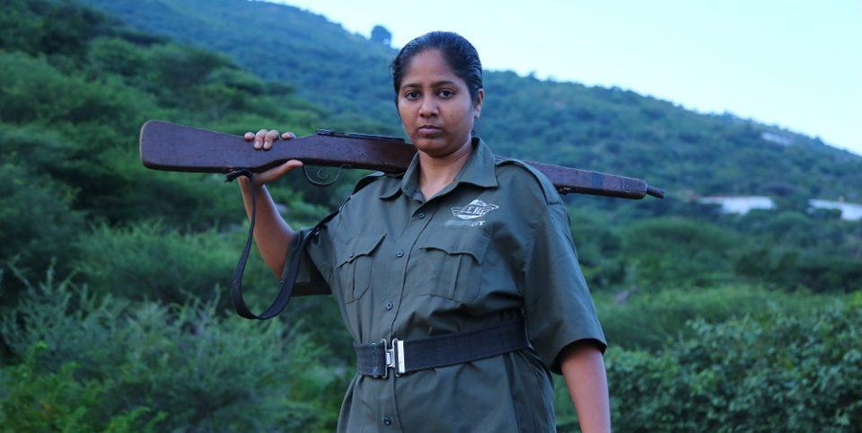 Veerappan's Daughter in Maaveeran Pillai