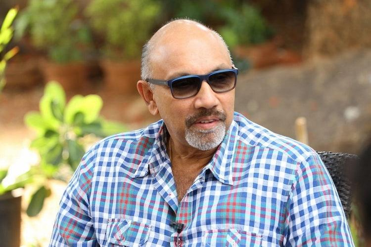 Sathyaraj with mother