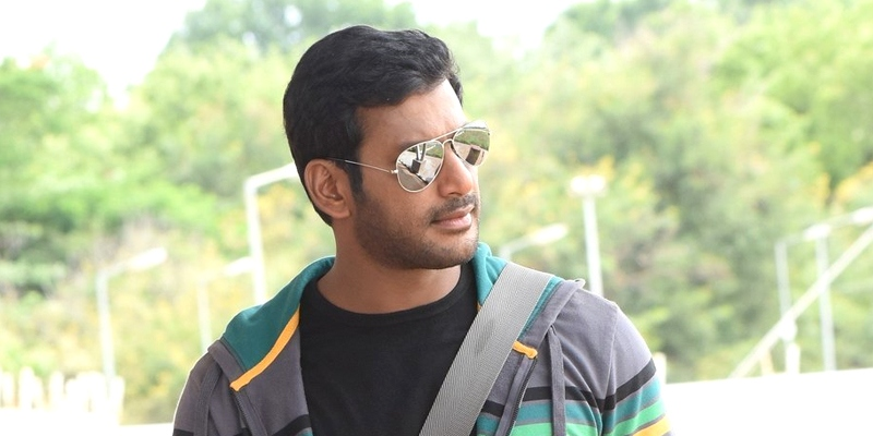 Famous actress paired with Vishal