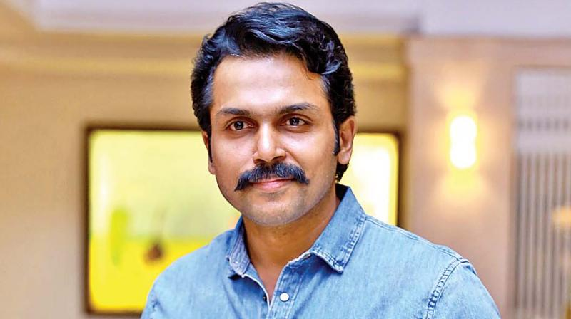 I will not act like that even if I pay crores of rupees - Karthi