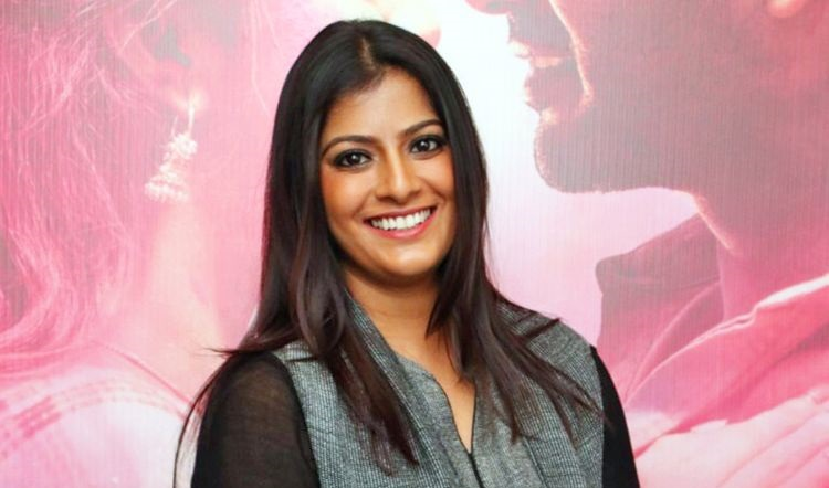 Varalakshmi introduced her son to the fans through a social networking site