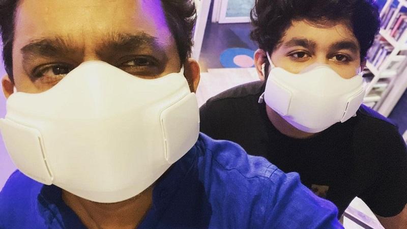 AR Rahman gets his first jab of the COVID-19 vaccine
