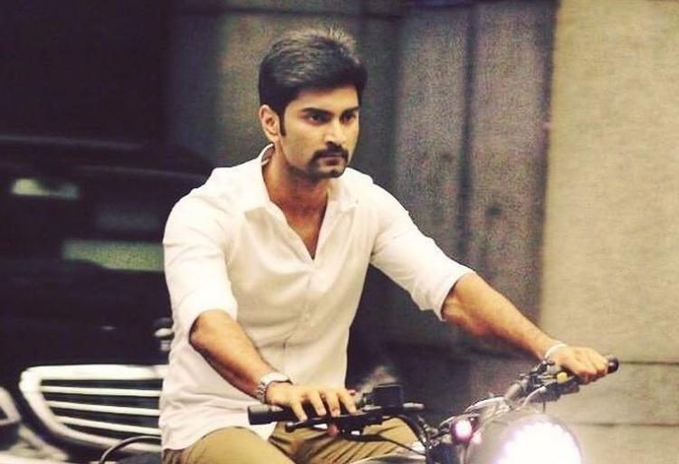 Atharvaa in Malayalam movie remake