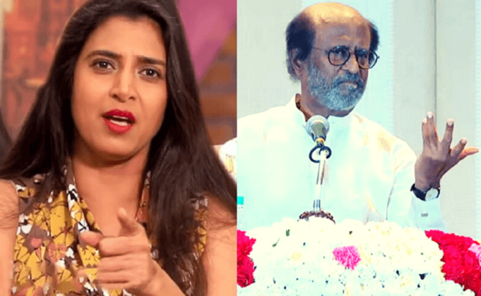 How did only Rajinikanth get permission to go to America - Actress Kasturi question