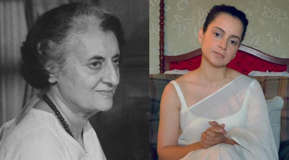 Kangana Ranaut changes to look like Indira Gandhi