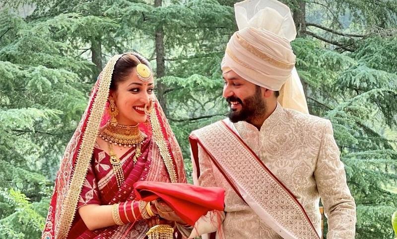 Suddenly married Yami Gautam
