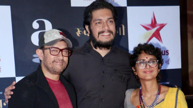 The young actress is paired with Aamir Khan's son
