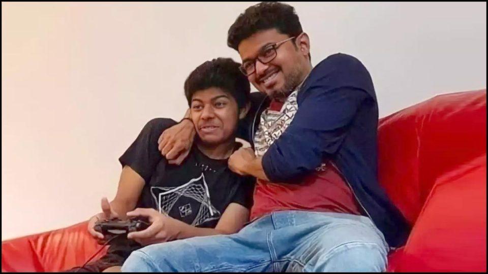 Vijay's son video goes viral