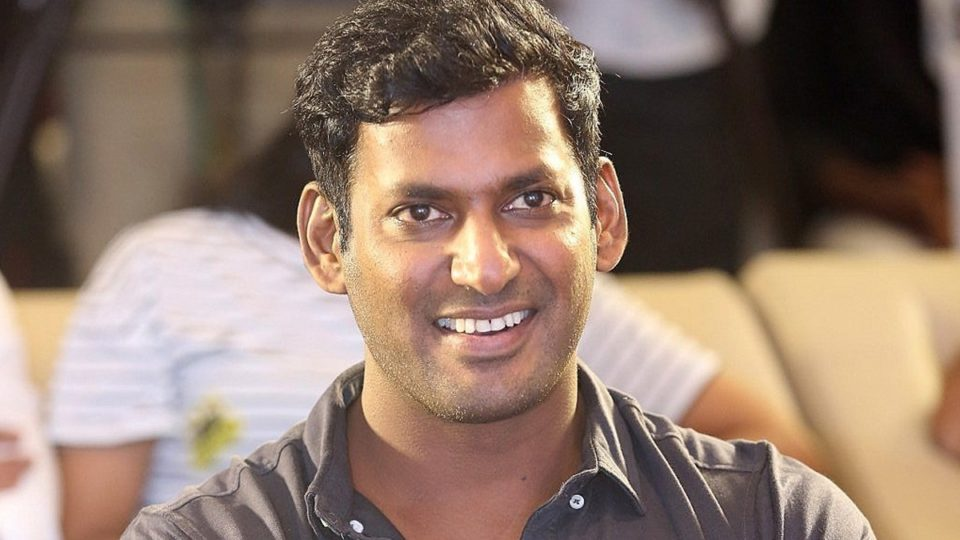 Vishal stepping in to shoot