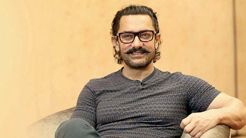Complaint of littering at the shooting site - Aamir Khan film crew
