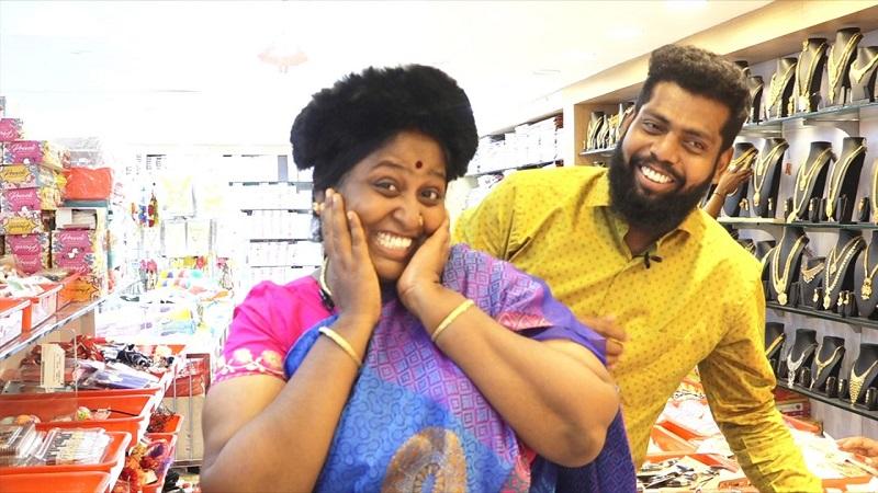 Cooku With Comali fame Deepa-வின் Kalakkal Shopping at Velavan Stores