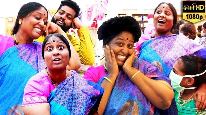 Cooku with Comali Deepa Fun Shopping