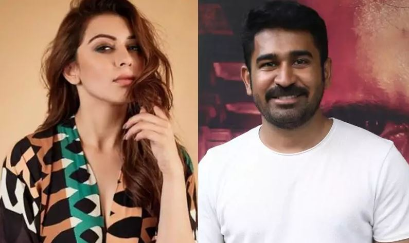 Hansika to pair with Vijay Antony