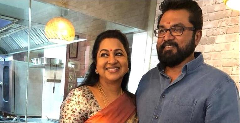 Radhika produces a web show 'Irai' with Sarathkumar