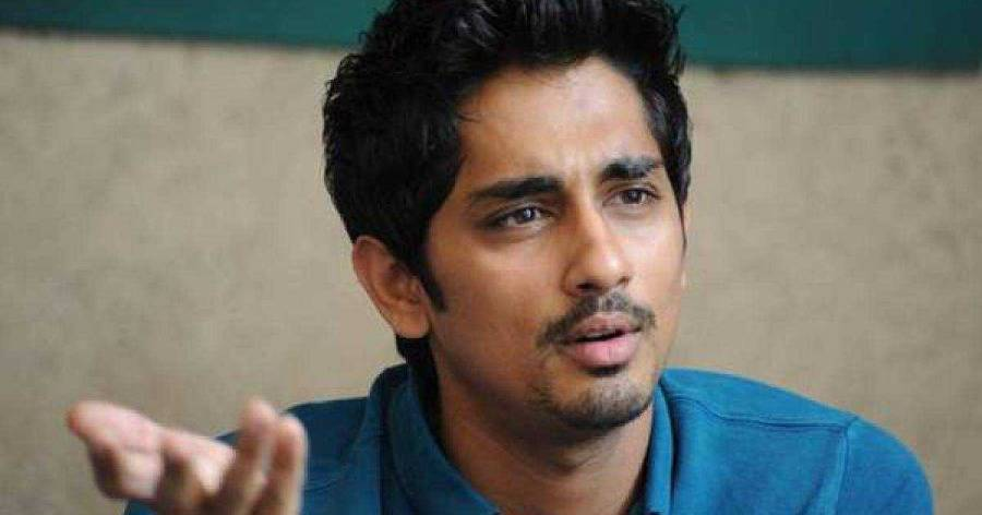 Siddharth angry at the fan