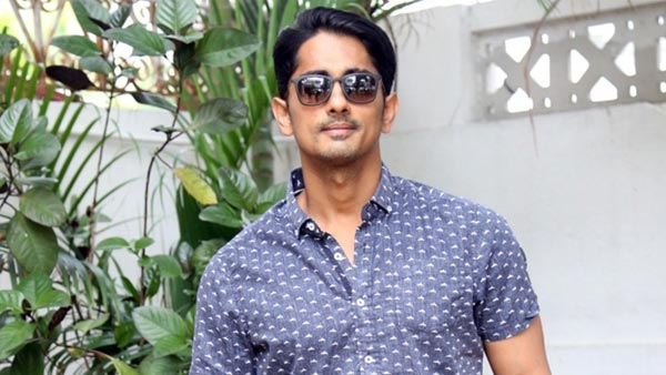 Siddharth reunites with famous director
