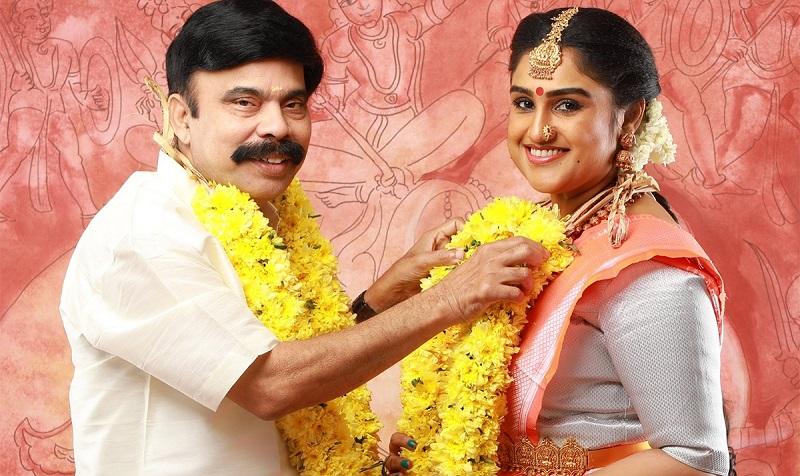 Vanitha married to Power Star Srinivasan
