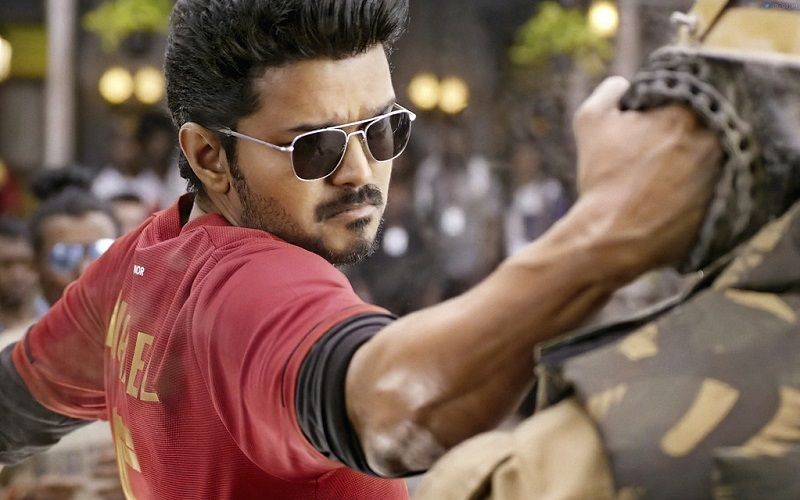 doctors treatment to boy by showing him the picture of 'Bigil'