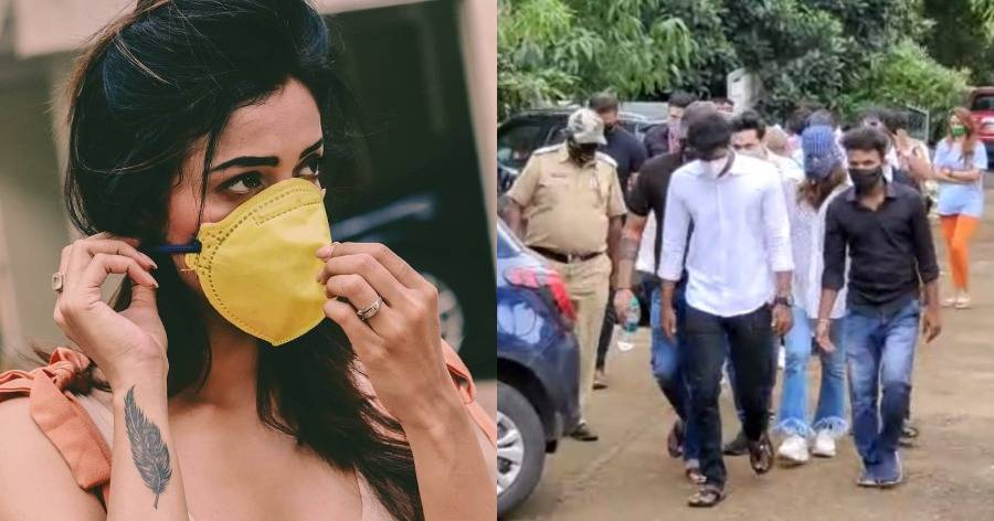 glamour actress arrested for attending drug party