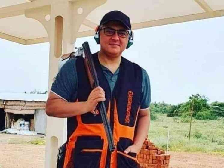 Ajith goes to the next level in shooting
