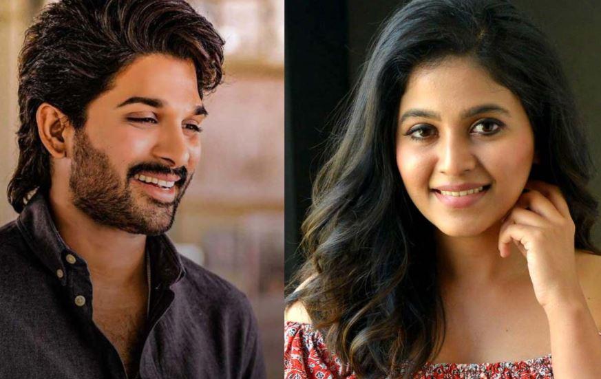 Anjali in Allu Arjun movie