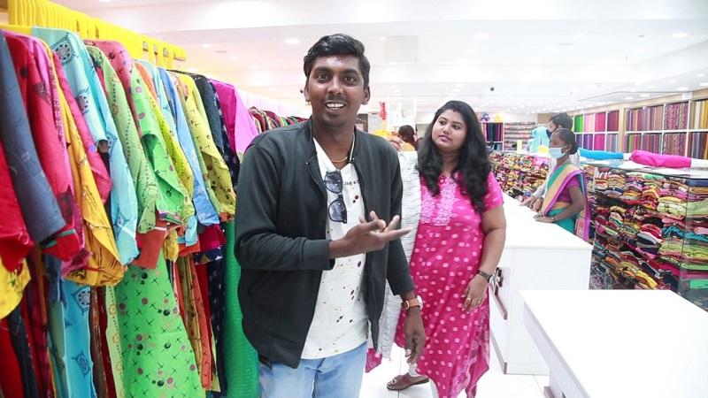 Fun Shopping With KPY Sarath and Krithika