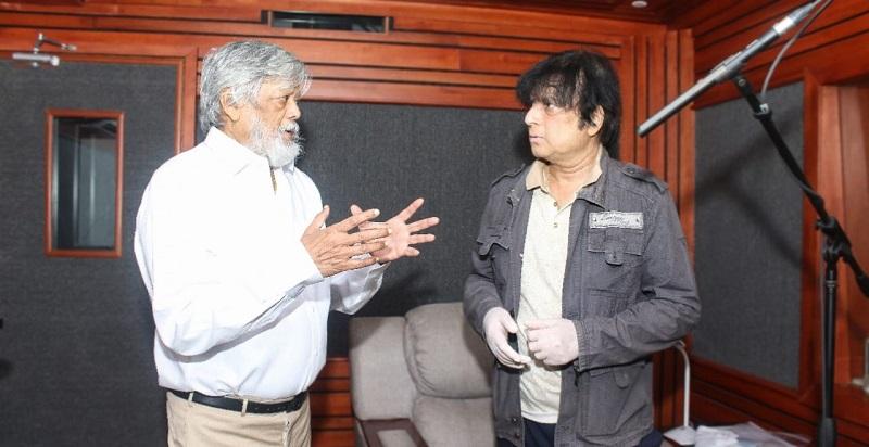 Karthik starts dubbing for Andhagan