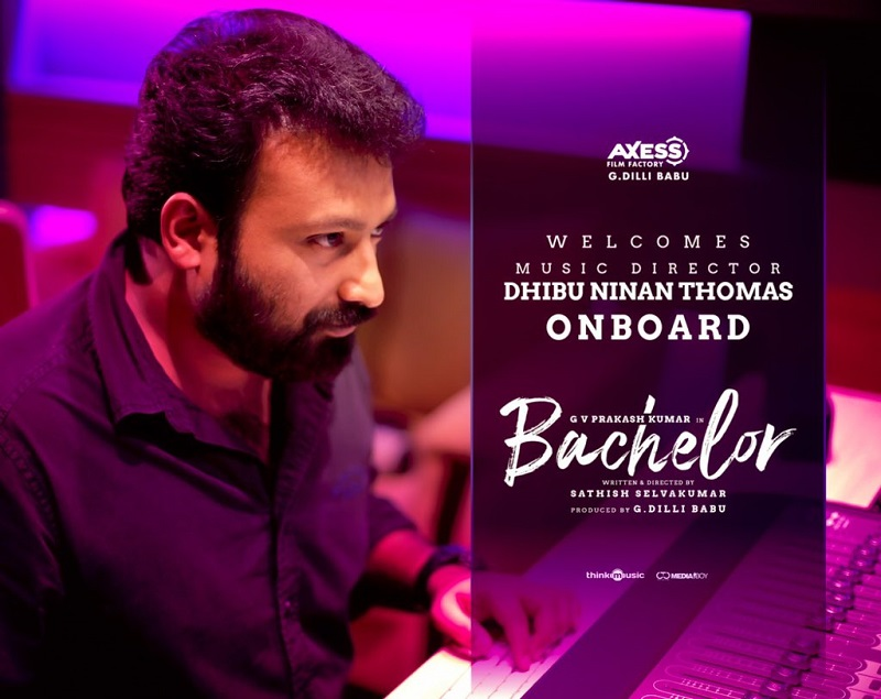 Music director change of GV Prakash starrer 'Bachelor'