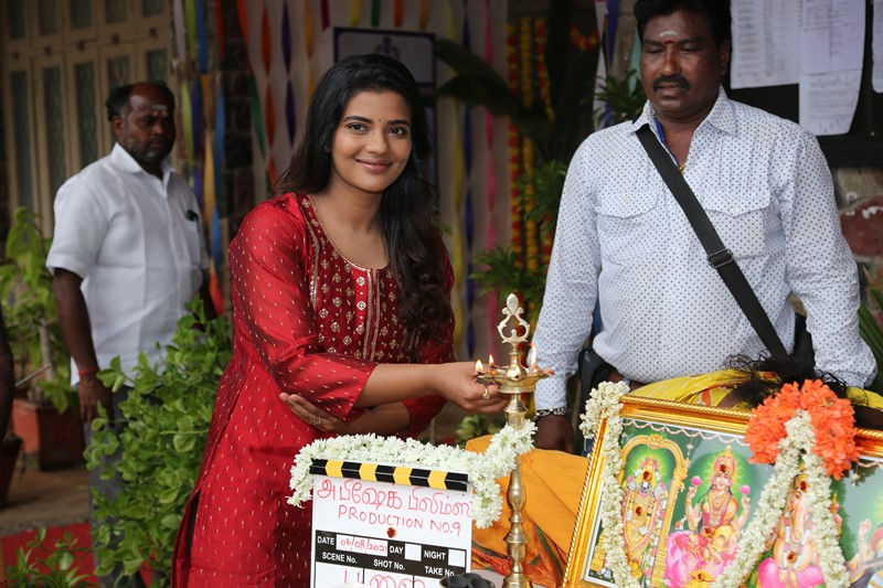 Prabhu Deva and Aishwarya Rajesh New Movie Launch