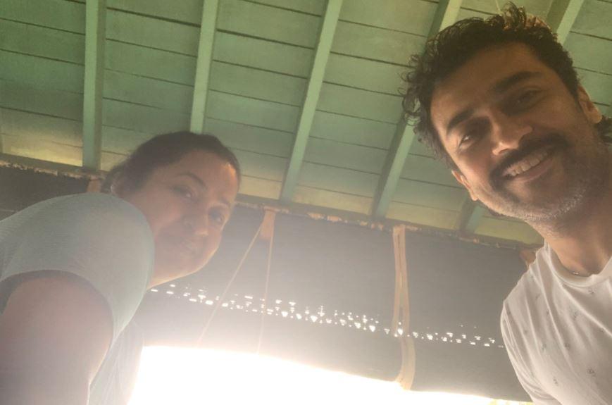 Radhika joins Suriya in the film