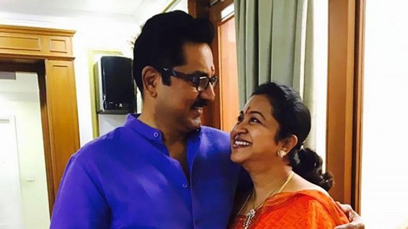 Radikaa Sarathkumar completed 43 years in cinema - Congratulations Sarathkumar