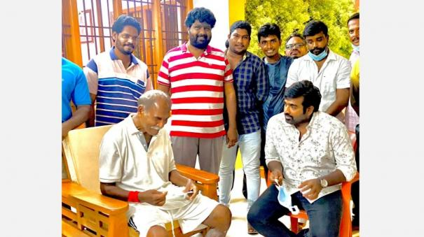 Vijay Sethupathi met Chief Minister Rangasamy in person and made the request