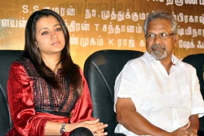 Complain to the police demanding the arrest of Trisha and Mani Ratnam
