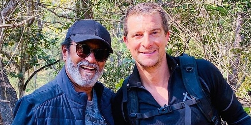 Famous actor goes to the forest following Rajini