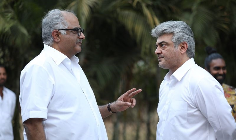 Hat-trick alliance with actor Ajith ... confirmed by Boney Kapoor