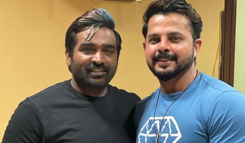 Is this the reason why Vijay Sethupathi met cricketer Sreesanth