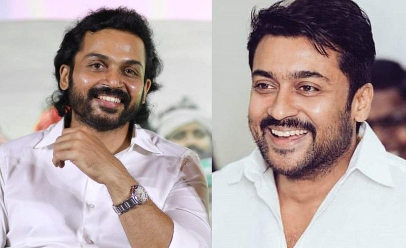 Karthi to form alliance with Suriya again