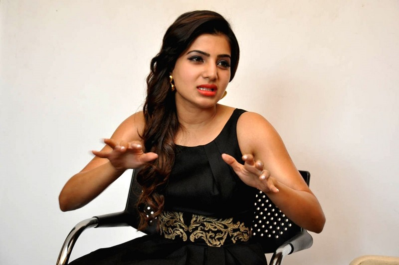 Samantha puts an end to the controversy