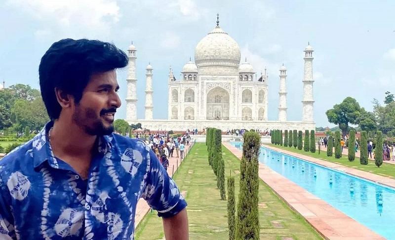 Sivakarthikeyan to do romance at Taj Mahal