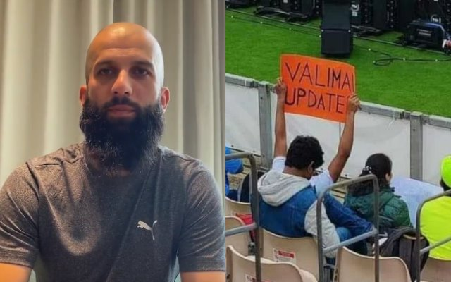 The 'Valimai' update will never be forgotten ... says Moeen Ali