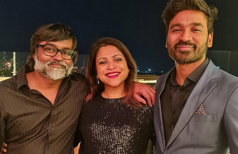Dhanush attend a birthday party